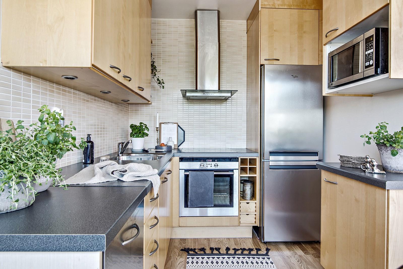 Här erbjuds alla tänkbara faciliteter som får kocken att trivas