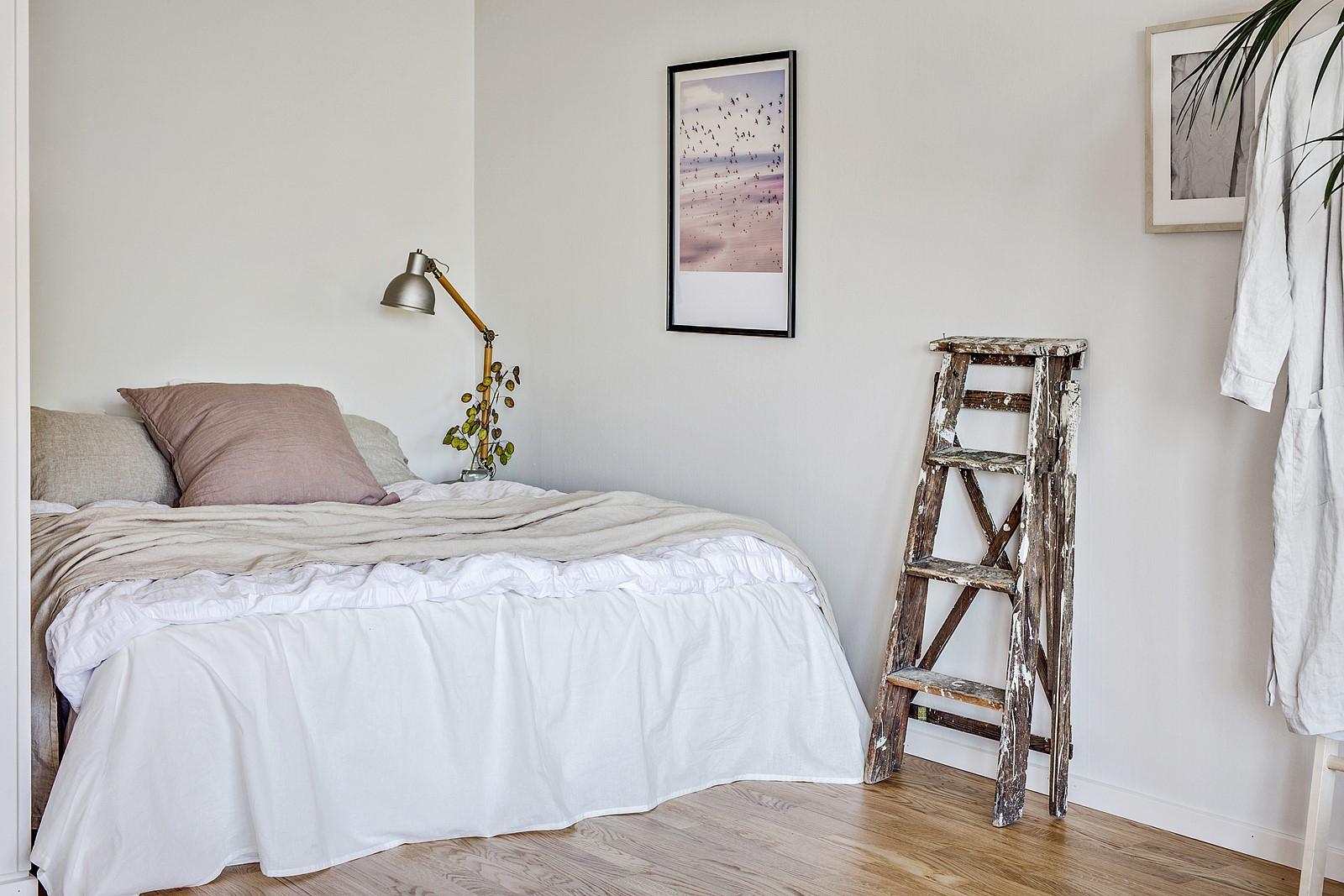 Sovalkovet kan med enkla medel avskärmas mot resterande del av rummet